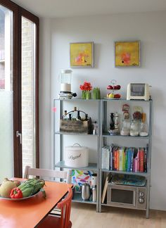 IKEA Hyllis is a cool shelving unit that can be used in many modern spaces. Lets see how to rock it indoors and outdoors. Ikea Kitchen, Kitchen Decor, Kitchen Appliances, Kitchen Items, Kitchen Dining, Ikea Shelves, Best Ikea, Dining Decor, Dining Area