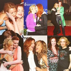 Desperate Housewives Marcia Cross and Felicity Huffman