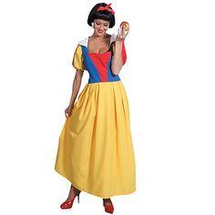 Sneeuwwitje dames kostuum. Dit Sneeuwwitje dames kostuum is van mooie kwaliteit en kan gewassen worden. Mooie lange Sneeuwwitje jurk voor dames exclusief de accessoires. Bestel hier ook een bijpassende Sneeuwwitje pruik en andere leuke accessoires om uw kostuum helemaal compleet te maken. Carnavalskleding 2015 #carnaval