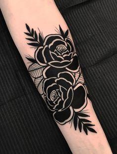 Black Ink Tattoos, Dope Tattoos, Mini Tattoos, Leg Tattoos, Flower Tattoos, Body Art Tattoos, Sleeve Tattoos, Tattos, Tattoo Sketches
