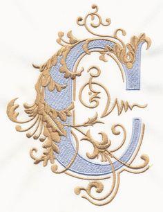 Vintage Royal Alphabet and Accent Designs