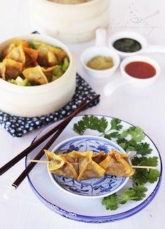 La Cucharina Mágica: Dim Sum fritos de pato laqueado