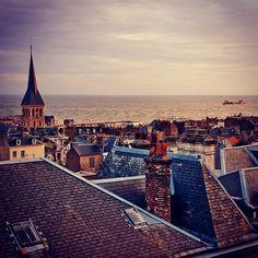 Les toits du quartier Saint-Vincent - ©athomeinfrance
