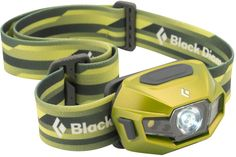 Black Diamond Revolt The revolutionary USB-rechargeable headlamp that also runs on standard AAA batteries, the full-featured, hybrid-power ReVolt now features 130 lumens of power.