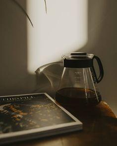 coffee and magazine French Press, Coffee Maker, Kitchen Appliances, Magazine, Studio, Photos, Instagram, Coffee Maker Machine, Diy Kitchen Appliances