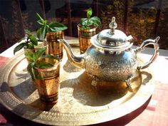 Moroccan tea...