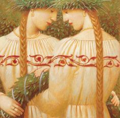 ▫Duets▫ sisters, twins & groups of two in art and photos - Andrej Remnev