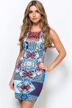 Pop Tribal Bodycon Dress Dress P, New Dress, Bodycon Dress, Lily Pulitzer, Pop, Fashion, Moda, Body Con, Popular