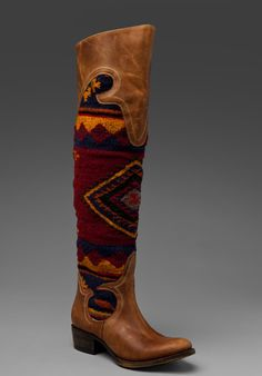 want these, bad! Freebird Steve Madden Cabal Blanket Boot