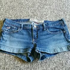 Hollister shorts Used size 5 Hollister shorts. In good condition. Hollister Shorts