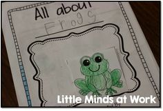 Little Minds at Work: Frogs Close Read {freebie included} 1st Grade Science, Teaching First Grade, Kindergarten Science, Kindergarten Reading, Science Resources, I Love School, School Stuff, Informational Writing