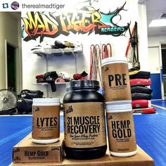 Train More // #athohana  @therealmadtiger  My favorite supplements. #athnutrition #ath #organic #homegrown Locally owned and operated! Full line of products now too! @athorganics Thanks! Come see me if you want or need any of this or also checkout there website www.athnutrition.com