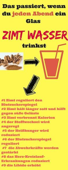 With cinnamon you can lose weight better. There are 3 reasons for this. - Gesundheit, Health, Tip. Cinnamon Drink, Cinnamon Recipes, Health Eating, Health Diet, Detox Drinks, Healthy Drinks, Smoothie Detox, Milk Recipes, Diet And Nutrition