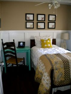 Guest room? http://www.southernprissdesigns.com/2011/07/vintage-weekend-redo.html