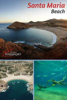 Bahía Santa María is a protected marine sanctuary, so bring along a snorkel and fins for a subsurface rendezvous with the teeming, multi-colored, friendly marine life you can find around the perimeter of the bay.  Safe and secluded, Santa Maria is an ideal beach on a lot of levels.   #Cabo #SanLucas #Beaches #LosCabos Santa Maria Beach, Stuff To Do, Things To Do, Cabo San Lucas, Marine Life, Snorkeling, Beaches, Surfing, Tours