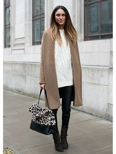 London Fashion Week AW14 Street Style