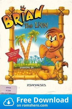 Download Brian The Lion (AGA)_Disk2 - Amiga 500 ROM Website Header, Aga, Games To Play, Lion, Disney Characters, Free, Leo, Lions