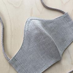 Linen face masks. Nose wire and filter pocket. Handmade in Finland. 👋🏻🤍 Embroidery Bags, Recycle Jeans, Recycled Denim, Patchwork Bags, Linen Bag, Black Linen, Denim Fabric, Zipper Bags, Natural Linen