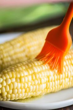 Microwave corn on the cob is the easiest way to cook a whole ear of corn. It's quick, mess-free, and comes out perfect every time. Microwave Ear Of Corn, Microwave Dishes, Microwave Recipes, Cooking Recipes, Healthy Side Dishes, Vegetable Side Dishes, Vegetable Recipes, Microwave Vegetables, Veggies