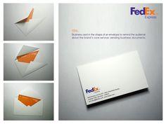 裏返すと封筒に! 小さなアイデアでブランドを語るクリエイティブな名刺