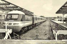 High Speed Train Ilkley Station