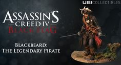 Blackbeard Figurine. Insta-preorder! Got to add to the growing collection.