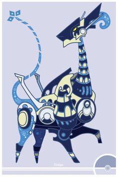 Pokemon by Cosmopoliturtle on DeviantArt Pokemon Fake, Play Pokemon, Pokemon Fusion, Pokemon Stuff, Art Pokemon, Character Creation, Character Design, Shadow Lugia, Aztec Drawing