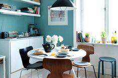 Bildresultat för petroleumblå vägg
