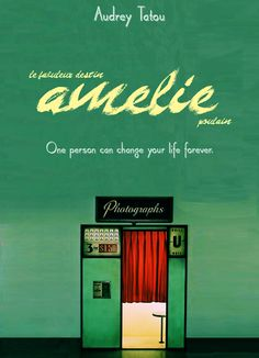one person can change your life forever Minimal Movie Posters, Minimal Poster, Film Posters, Music Film, Film Movie, Poster Minimalista, Non Plus Ultra, Audrey Tautou, French Movies