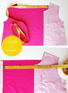 O tutorial para as pregas dos vestidos que fiz a semana passada  está pronto!  As instruções são apenas para a execução das pregas...