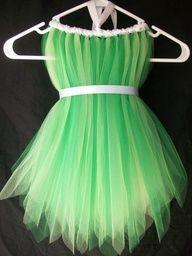 DIY Tinkerbell costume - costume da Trilli fai da te
