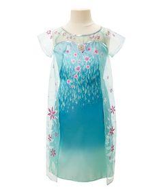 Look at this #zulilyfind! Frozen Fever Elsa Dress #zulilyfinds