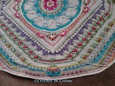 Ravelry: Shadowmiste's Sophie's Universe CAL - Colours of Rows listed