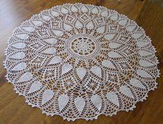 Ravelry: gmarox2's Mountain Trail Crochet Tablecloth, Crochet Doilies, Fillet Crochet, Ravelry, Pineapple Crochet, Mountain Trails, Crochet Crafts, Crochet Patterns, Doily Patterns
