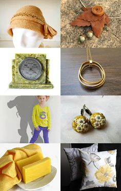 fall yellow by BlingScarves on Etsy--Pinned with TreasuryPin.com