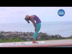 yogaTip: Dropbacks: Standing to Full Backbend   yourBuddhi