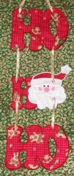 Holiday Danglers Embroidery Designs
