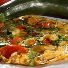 Egy finom Cukkinis rántotta ebédre vagy vacsorára? Cukkinis rántotta Receptek a Mindmegette.hu Recept gyűjteményében! Penne, Thai Red Curry, Vegan, Chicken, Ethnic Recipes, Food, Hoods, Meals, Vegans