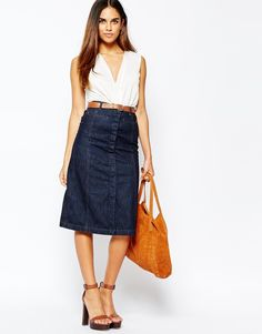 Skirt by Warehouse