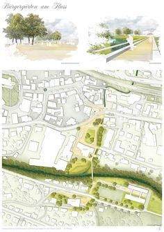 Station C23 (2014): Umgestaltung Schillerplatz und Remsanlagen, Lorch (DE), via competitionline.com