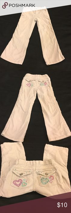 Kids size 5 corduroy khaki pants! Almost new! Almost brand-new size 5 khaki corduroy pants! No stains or rips! Comes from a smoke free home! Feel free to make an offer! Sonoma Bottoms Jeans