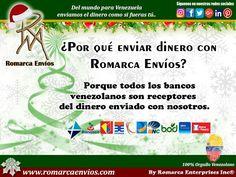 #RomarcaEnvios te ofrece los mejores servicios.  #EnvioDeDinero #VenezolanosEnElExterior