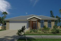 GJ Gardner Home Designs: Tasman 198 Facade Option 2. Visit www.localbuilders.com.au/builders_south_australia.htm to find your ideal home design in South Australia