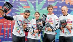 Nathan Fa'avae, Sophie Hart, Trevor Voyce and Dougal Allan, the Adventure Racing World Championship 'Seagate' team, Brazil (2008)
