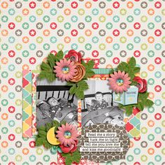Bedtime Stories by Digilicious Designs Crystal Livesay Template Set 2