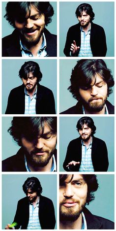 BAFTA; 60 Seconds With...Tom Burke, interview gif set.