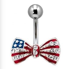Cute belly button ring!