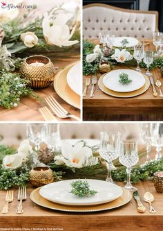 Create everlasting holiday tablescapes with premium silk flowers and holiday decor from Afloral.com