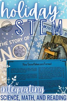 Find SO many fun and engaging STEM activities to do during the holiday season! All of these great STEM projects come in both print and digital forms so you can use them in the classroom or during distance & virtual learning. Includes STEM activities for Thanksgiving, Christmas, winter & Valentine's Day! Read the blog post to find out all the details about these STEM activities that integrate ELA!