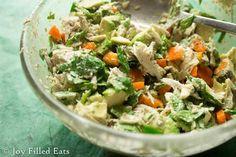 Cilantro Lime Chicken Salad - Low Carb, Grain/Gluten Free, THM S